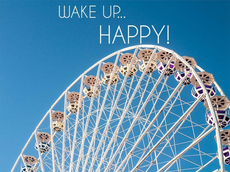 Wake up happy!  6 non-negotiable tips